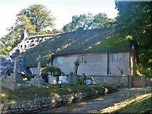 SX7087 : Chagford houses [7] by Michael Dibb
