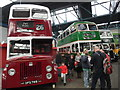 NT2574 : Inside Lothian Buses Central Bus Garage (1) by David Hillas