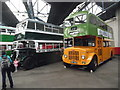 NT2574 : Inside Lothian Buses Central Bus Garage (2) by David Hillas