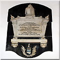 SD6178 : John Parr memorial, St Mary's church by Bill Harrison