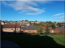 SE2333 : Housing off Hough Side Road, Pudsey by Stephen Craven