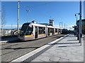 O1337 : LUAS tram No. 5032 at Broombridge by Gareth James