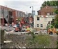 SJ8990 : Roadworks at Knightsbridge by Gerald England