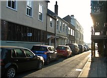 TG5207 : Great Yarmouth's Rows - New Broad Row (Queen Street) by Evelyn Simak