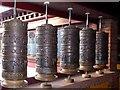 NT2400 : Prayer wheels at Samyé-Ling Tibetan Centre by Oliver Dixon