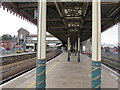 ST3261 : Under the canopy at Weston-super-Mare railway station by Jaggery