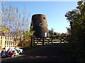 TM4198 : Entrance to Thurlton Towermill at Mill House by Adrian Cable