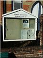 TM4198 : Norton Subcourse Village Notice Board by Adrian Cable