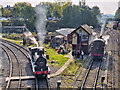SD8010 : Steam Locos at Bury South Junction by David Dixon