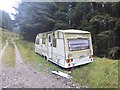 NT1807 : A sad caravan by Oliver Dixon