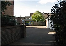 TG5207 : Yard off King Street by Evelyn Simak