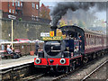 SD8010 : Edwardian Steam Locomotive at Bolton Street Station by David Dixon