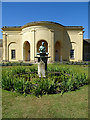 SE4017 : Gardens at Nostell Priory by Anne Burgess