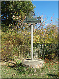 TM4098 : Norton Subcourse Village Sign by Adrian Cable