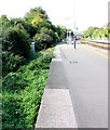 ST5770 : Disused platform on the south side of Parson Street station, Bristol by Jaggery