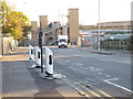 TQ4983 : Electric vehicle charging points, Dagenham by Malc McDonald