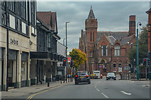 SK3871 : Chesterfield : St Mary's Gate by Lewis Clarke