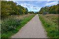 SK4661 : Ashfield : Footpath by Lewis Clarke
