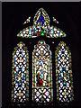 SO3449 : Window inside St. James' Church (Chancel   Kinnersley) by Fabian Musto