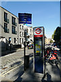 TQ2982 : Cycle hire and signage, Doric Way by Stephen Craven