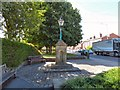 SJ9391 : Woodley Drinking Fountain by Gerald England