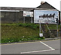 SS6594 : Lloyds Bank advert above a Swansea corner by Jaggery