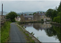 SD8538 : Leeds and Liverpool Canal in Nelson by Mat Fascione