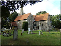 TL9125 : St. Margaret & St. Catherine's Church, Aldham by Geographer