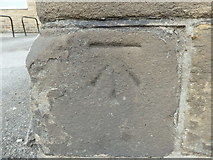 SE1437 : OS Cut Benchmark, The Old House at Home, Otley Road, Shipley by Stephen Armstrong