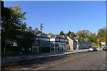 NS5574 : Milngavie Station - alight here for the West Highland Way by Tim Heaton