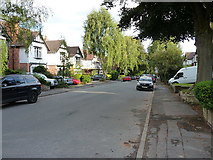 SP0882 : Houses on Oxford Road, Wake Green by Richard Law