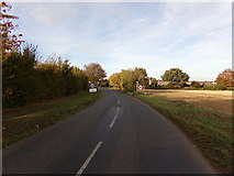 TL9125 : Entering Aldham on Brook Road by Geographer