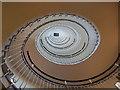 TQ3181 : Staircase at Blackfriars Premier Inn hotel by David Martin