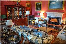 ST7734 : Wiltshire : Stourhead - Stourhead House South Apartments by Lewis Clarke