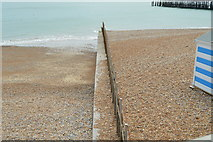 TQ8109 : Groyne, Hastings Beach by N Chadwick