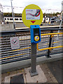 TL9123 : Smart Card Machine at Marks Tey Railway Station by Adrian Cable