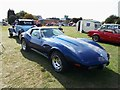 TL1998 : Chevrolet Corvette at the Peterborough Classic Vehicle Show, September 2018 by Paul Bryan