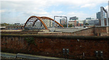 SJ8297 : The Ordsall Chord railway bridge by Thomas Nugent