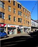 SS9079 : Moneyline office in Bridgend town centre by Jaggery