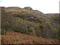 NM6874 : Cruach na Cuilidh Bige above Loch Moidart by ian shiell