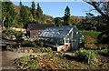 NM7910 : Greenhouse, Arduaine Garden by Richard Sutcliffe