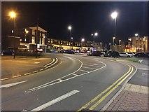SP2871 : Road through car park by Alan Hughes