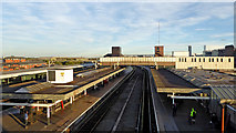 SO9198 : Wolverhampton Station by Roger  Kidd