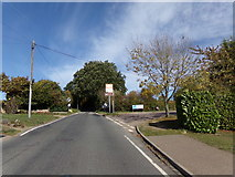 TL8928 : Station Road, Wakes Colne by Adrian Cable