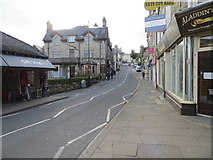 SD4077 : Main Street (B5277) in Grange-Over-Sands by Peter Wood