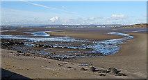 NT1977 : Silverknowes Beach by Anne Burgess