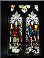 SO3732 : Window inside St. Faith's Church (Nave   Bacton) by Fabian Musto