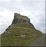 NU1341 : Lindisfarne Castle by Gordon Hatton
