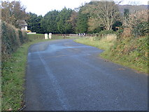 J0016 : Widened northern section of the Bog Road, Forkhill by Eric Jones