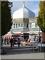 SO9889 : Onion dome, Sainsburys by Philip Halling